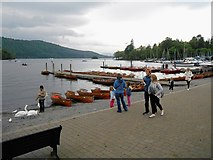 SD4096 : Bowness Bay from the Promenade by David Dixon