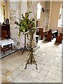 TL9640 : Lectern of St. Mary's Church by Adrian Cable