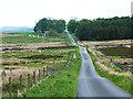 NZ0904 : Cordilleras Lane by Oliver Dixon