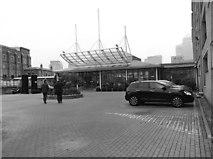 TQ3680 : Hilton London Docklands Hotel entrance by Eirian Evans