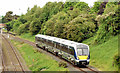 J2564 : Diverted train, Knockmore, Lisburn - June 2014(1) by Albert Bridge