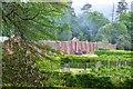 NS1060 : Walled kitchen garden, Mount Stuart by Jim Barton