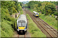 J2564 : Diverted train, Knockmore, Lisburn - June 2014(3) by Albert Bridge