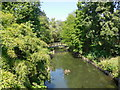 TQ2782 : Outlet stream in Regent's Park by Paul Gillett