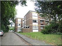 TQ2160 : Clovelly Court on Alexandra Road, Epsom by David Howard
