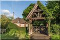 TQ3859 : Lychgate, St Leonard's Church by Ian Capper