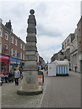 SY6990 : Dorchester: the town pump obelisk by Chris Downer
