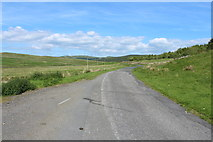 NX6592 : Road to Moniaive near Andrew's Rig by Billy McCrorie