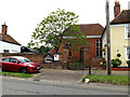TL8645 : Long Melford United Reformed Church by Adrian Cable
