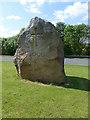 NY5228 : The Eden Millennium Stone by Oliver Dixon