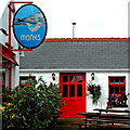M2208 : County Clare - Ballyvaghan - Monk's Seafood Pub & Restaurant by Suzanne Mischyshyn