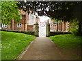 SU1430 : St Edmund's Church gates by Anthony Vosper