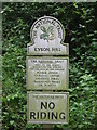 TM2747 : National Trust Signs by Keith Evans