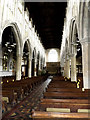 TL8646 : Inside of Holy Trinity Church, Long Melford by Adrian Cable
