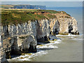 TA2472 : Natural Arches, Flamborough North Landing by Scott Robinson