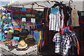 SP5972 : Stall at Crick Boat Show by Stephen McKay