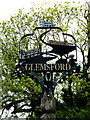 TL8248 : Glemsford Village sign by Adrian Cable