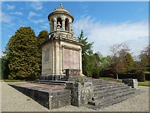 NS2982 : War Memorial in Hermitage Park by Lairich Rig