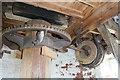 TG0702 : Wicklewood Windmill - sack hoist drive by Chris Allen