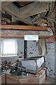 TG0702 : Wicklewood Windmill - stone floor by Chris Allen