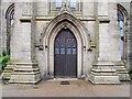 SJ9398 : St Peter's Church, West Doorway by David Dixon