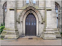 SJ9398 : St Peter's Church, West Doorway by David Dixon