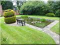 SJ3475 : Pond, Inglewood Manor by Oliver Dixon