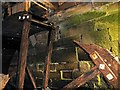 SJ7387 : Damaged Waterwheel, Dunham Massey Sawmill by David Dixon