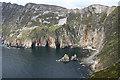G5477 : Slieve League Cliffs by Anne Burgess