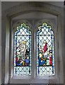 SP8812 : Buckland - All Saints - Stained Glass (2) by Rob Farrow