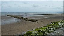 SH8678 : Bae Colwyn beach by Peter Bond