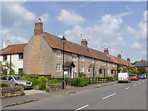 SK5451 : Cottages on Main Street by Alan Murray-Rust