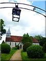 SU6121 : Exton church by Shazz