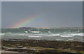 G6351 : Rainbow over Conors Island by Anne Burgess