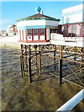 SD3036 : Shoreside end of Blackpool North Pier by Gerald England