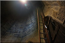 SK2168 : Inside the church tower, Bakewell by Peter Barr