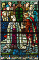 SK9771 : Detail, Stained glass window n.4, Lincoln Cathedral by J.Hannan-Briggs