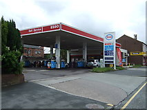 SD5504 : Service station on Ormskirk Road  by JThomas