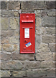SK5855 : Blidworth Church postbox ref NG21 55 by Alan Murray-Rust