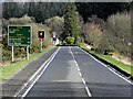 NM9641 : Barcaldine, A828 by David Dixon