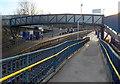 ST6078 : Half a footbridge, Filton Abbey Wood railway station by Jaggery