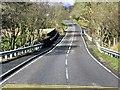 NM9544 : A828, Bridge over An Iola by David Dixon
