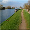 SO7406 : Path towards Splatt Bridge,  Frampton on Severn by Jaggery