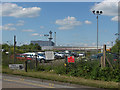 TQ0774 : Car park near Heathrow by Alan Hunt
