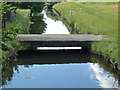 TQ0674 : Footbridge, The Longford River by Alan Hunt
