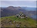 NG5424 : Belig summit by Ian Taylor