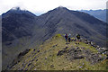 NG5424 : Belig west ridge by Ian Taylor
