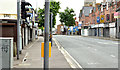 J3773 : The Upper Newtownards Road (EWAY), Ballyhackamore, Belfast - June 2014(1) by Albert Bridge