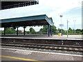 SU5290 : Didcot Parkway railway station by Virginia Knight