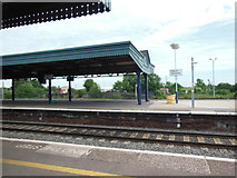 SU5290 : Didcot Parkway railway station by Virginia Knight